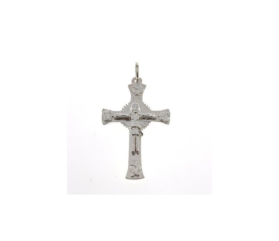 Cruz Gloriosa Camino Neocatecumenal en plata de ley CN3