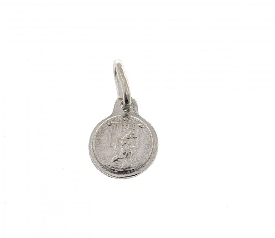 Medalla Virgen Caridad en Plata de Ley dbmc