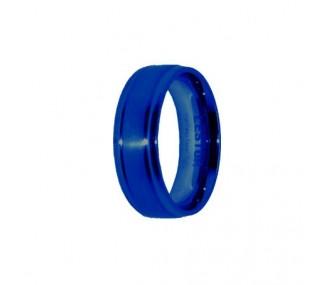ANILLO ACERO 316 L, IP AZUL R10110/AZU.19