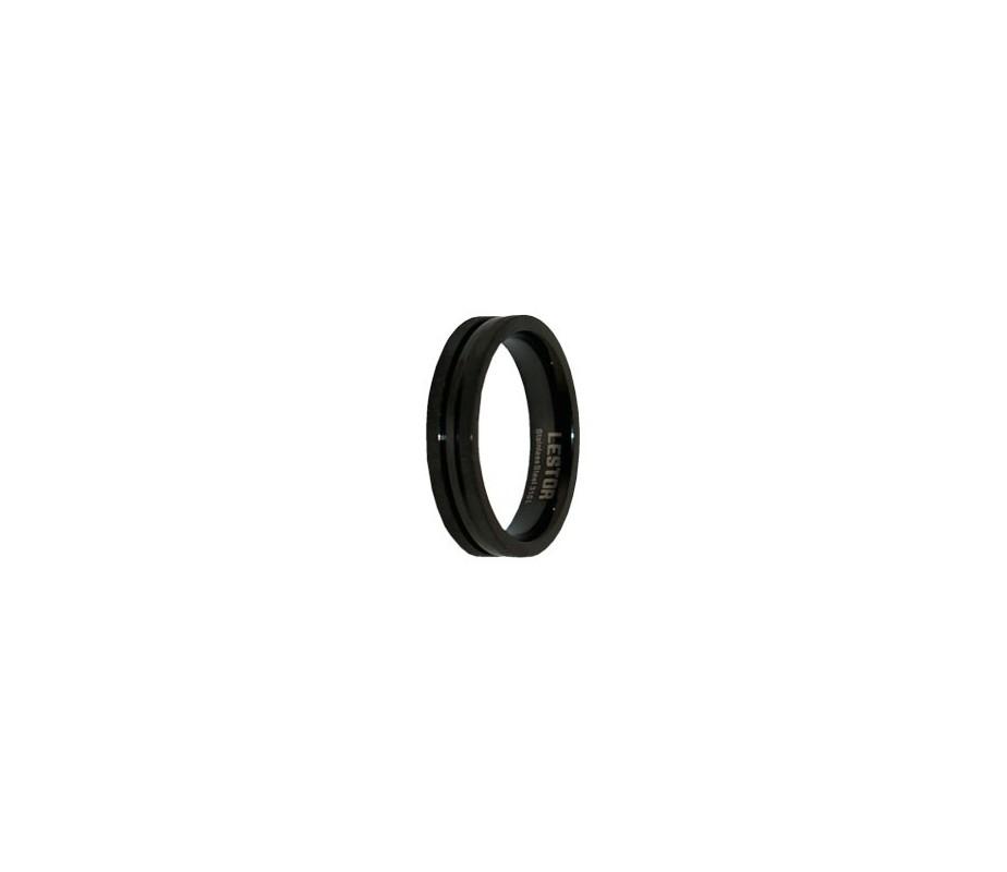 ANILLO ACERO 316 L, IP NEGRO R10164/NNB.21