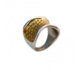 ANILLO ACERO 316 L CASTING, IP GOLD R14414/SGO.17