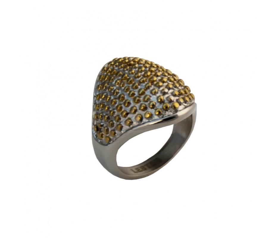 ANILLO ACERO 316 L CASTING, IP GOLD R14417/SGO.11